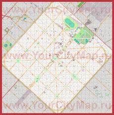 Подробная карта города Ла-Плата
