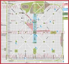 Туристическая карта Ла-Платы с достопримечательностями и отелями
