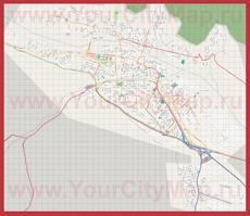Подробная карта города Сан-Сальвадор-де-Жужуй