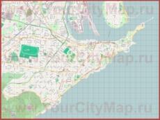 Подробная карта города Ньюкасл