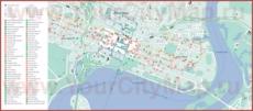 Карта отелей Перта