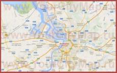 Карта Антверпена на русском языке