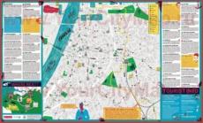 Туристическая карта Антверпена с достопримечательностями