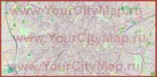 Подробная карта города Брюссель