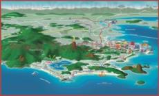 Туристическая карта Рио-де-Жанейро