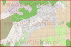 Подробная карта города Кохтла-Ярве