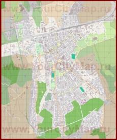Подробная карта города Раквере