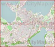 Подробная карта города Таллин