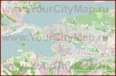 Подробная карта города Тампере