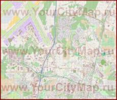 Подробная карта города Вантаа
