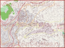 Подробная карта города Грасс