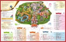 Карта диснейленда в париже