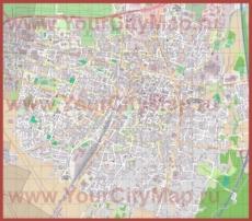 Подробная карта города Кольмар
