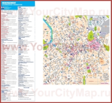 Карта отелей Лилля