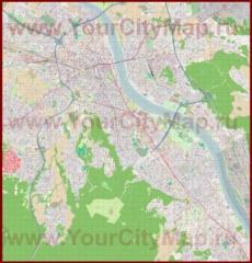 Подробная карта города Бонн