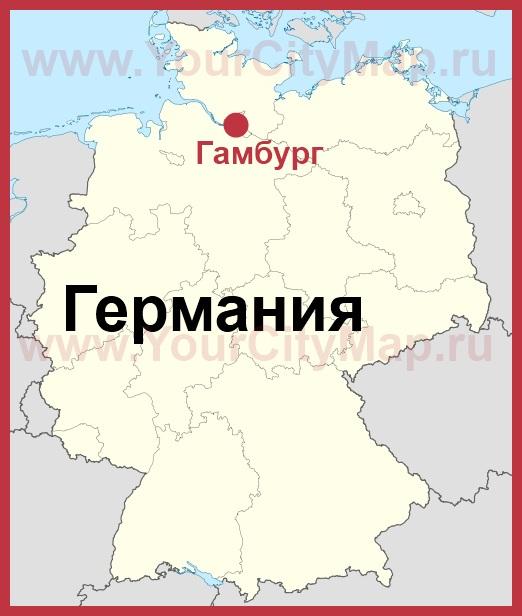 Карта расположения аэропортов Германии 200stranru