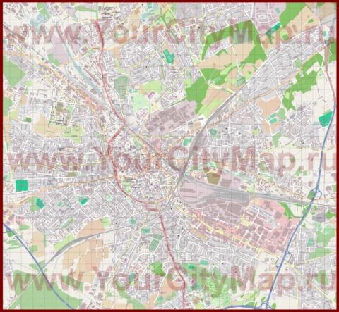 Оснабрюк Карта Города.Rar
