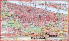 Туристическая карта Регенсбурга с достопримечательностями