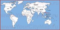 Гонконг на карте мира
