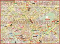 Карта отелей Афин