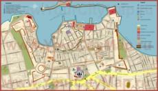 Туристическая карта Ханьи