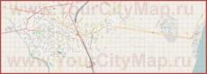 Подробная карта города Паралия Катерини