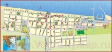 Туристическая карта Паралия Катерини