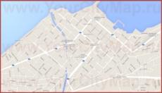 Подробная карта города Коринф