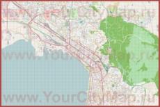 Карта города Салоники