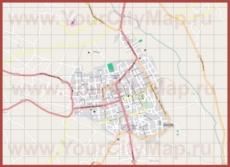 Подробная карта города Спарта