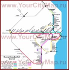 Карта метро Ченнаи