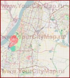 Подробная карта города Калькутта