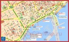Туристическая карта Аликанте с отелями