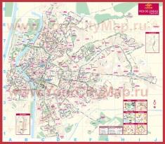 Подробная карта Севильи