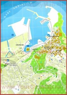 Туристическая карта Анконы