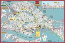 Карта города Венеция