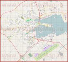 Подробная карта города Олбия