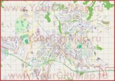 Подробная карта города Перуджа