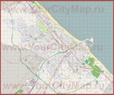 Подробная карта города Пескара