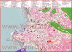 Туристическая карта Триеста с достопримечательностями