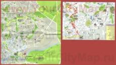 Туристическая карта Беэр-Шевы
