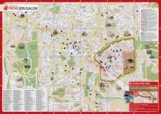 Карта отелей Иерусалима