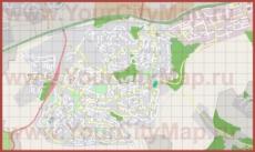 Подробная карта города Кармиэль