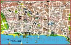 Карта Тель-Авива на русском языке