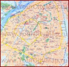 Карта города Харбин