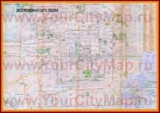 Карта отелей Пекина с ресторанами и магазинами