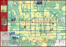 Подробная карта города Сиань