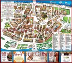 Туристическая карта старого города Риги