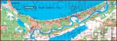 Карта Юрмалы с отелями и санаториями