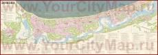 Старая туристическая карта Юрмалы